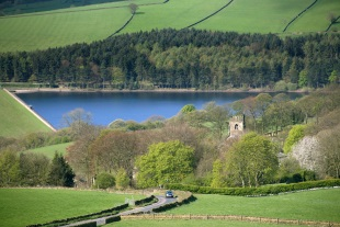 Agden reservoir near Sheffield